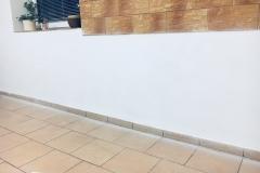 odstránenie vody zo steny